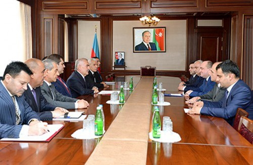 On June 30, 2014, the Chairman of the Supreme Assembly of the Nakhchivan Autonomous Republic has accepted Belarus Ambassador to Azerbaijan